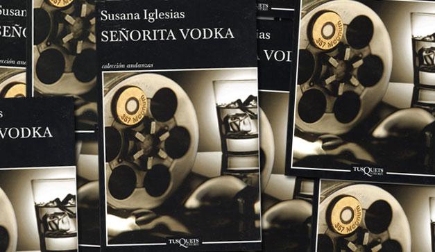 Susana Iglesias vino a la FILGUA, vio y nos convenció de las bondades de Señorita Vodka