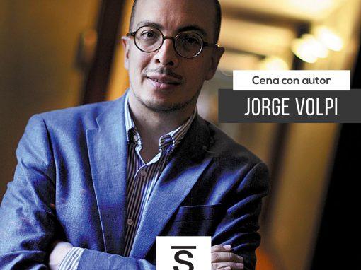 Cena con Jorge Volpi