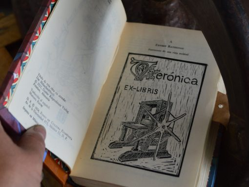 Taller de grabado: Ex Libris