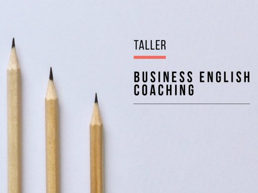 Taller: Business English Coaching