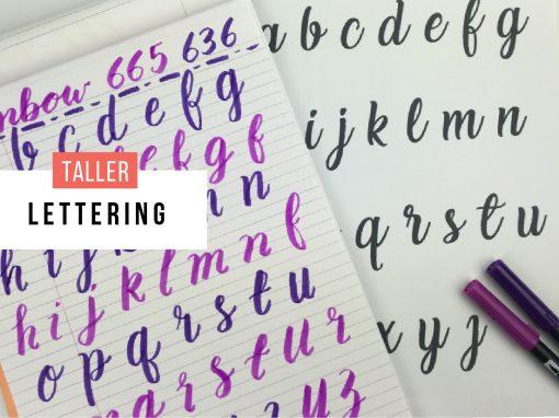Taller: Lettering