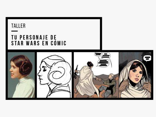 Tu personaje de Star Wars en cómic