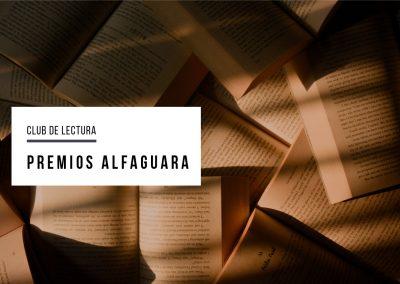 Club de lectura: Premios Alfaguara