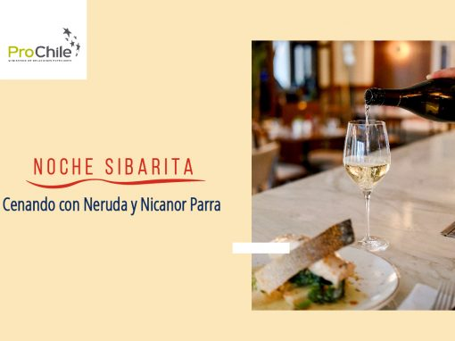 Cenando con Neruda y con Nicanor Parra