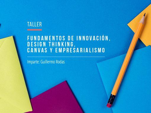 Fundamentos de Innovación, Design Thinking, Canvas y empresarialismo