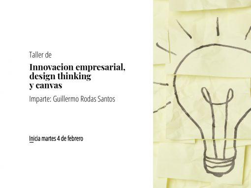 Taller de innovación empresarial, design thinking y canvas