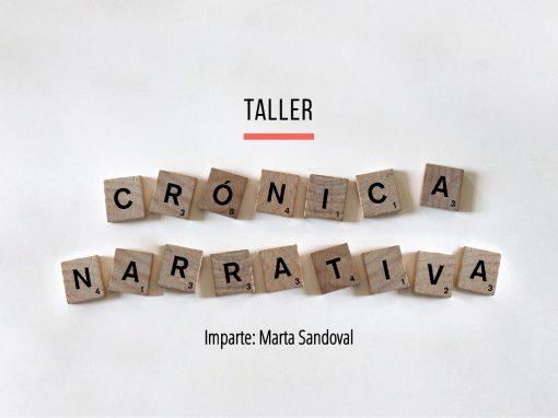 Taller de crónica narrativa