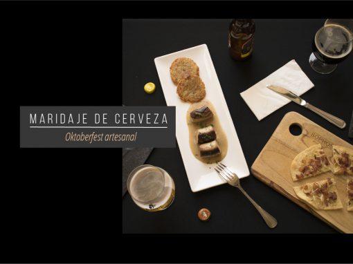 Oktoberfest artesanal: Maridaje de cerveza