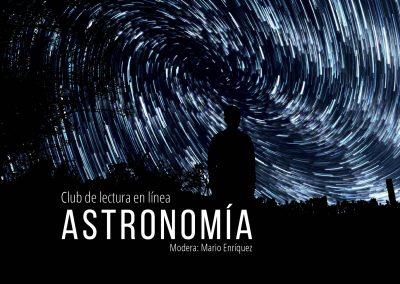 Club de lectura en línea: Astronomía