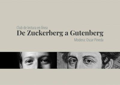 Club de lectura en línea: De Zuckerberg a Gutenberg