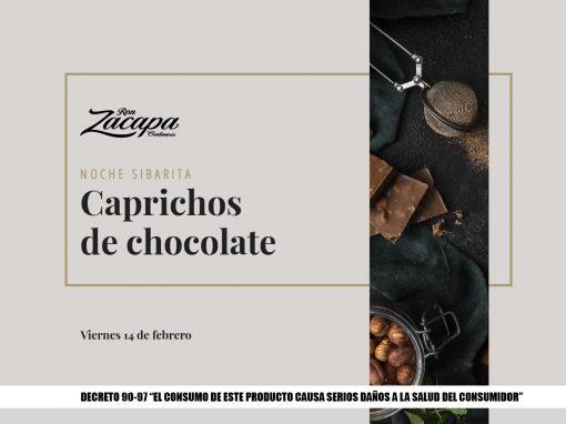 Maridaje de ron: Caprichos de chocolate