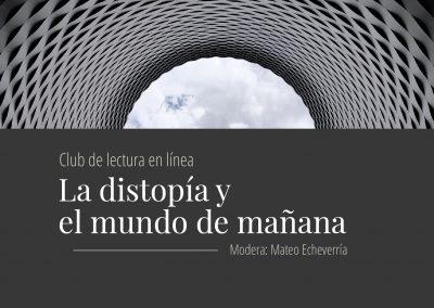 Club de lectura: La distopía y el mundo de mañana