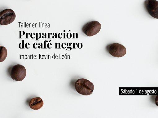 Métodos artesanales de preparación de café negro