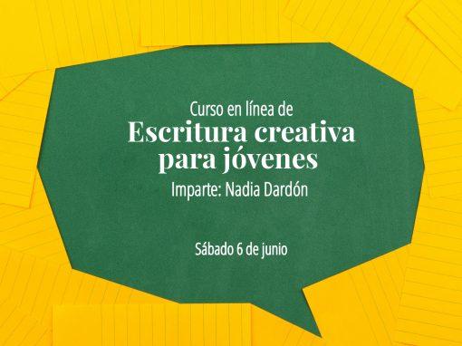 Curso en línea de escritura creativa para jóvenes