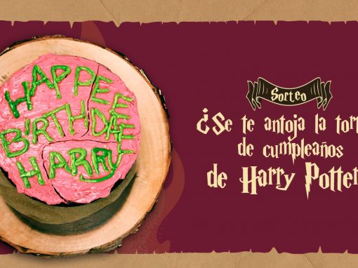 Sorteo: Pastel de cumpleaños de Harry Potter