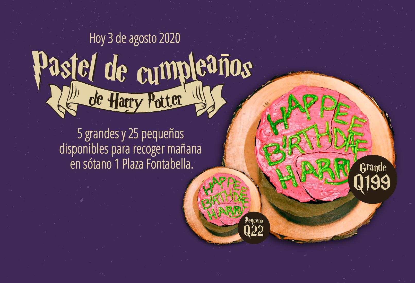 Pastel Harry Potter-web cuadrado