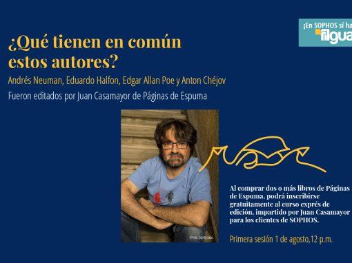 Curso exprés de edición con Juan Casamayor