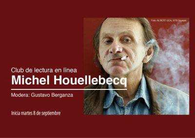 Club de lectura en línea: Michel Houellebecq