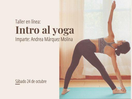 Taller en línea: Intro al yoga