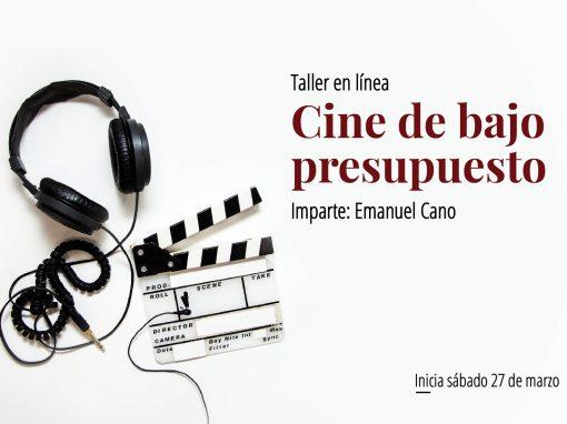 Taller en línea: Cine de bajo presupuesto