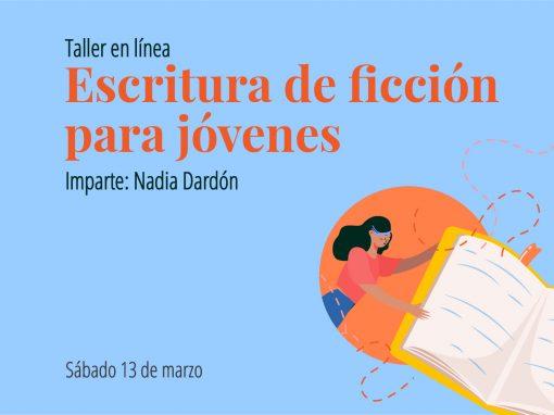 Taller en línea: Escritura de ficción para jóvenes
