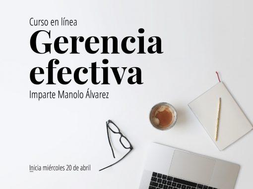 Taller en línea: Gerencia Efectiva