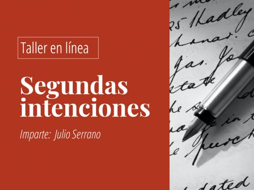 Taller en línea de escritura creativa: Segundas intenciones