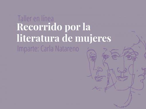 Taller en línea: Recorrido por la literatura de mujeres