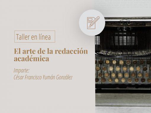 Taller en línea: El arte de la redacción académica