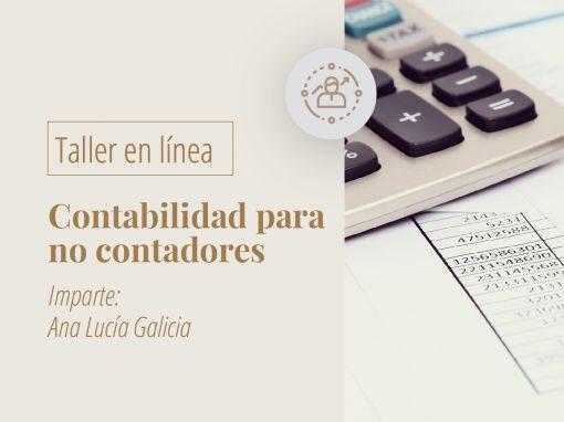 Taller en línea: Contabilidad para no contadores