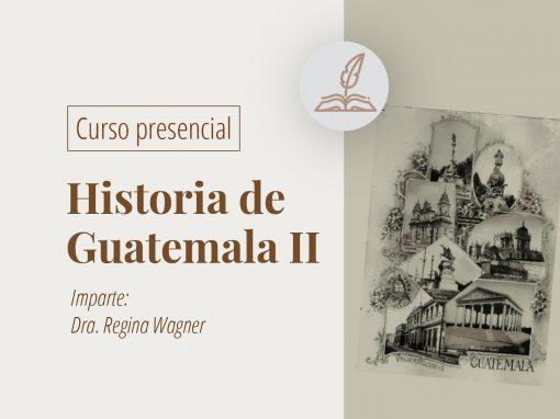 Taller en línea: Historia de Guatemala II