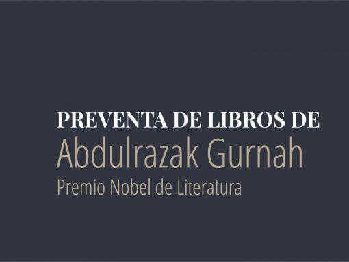 Preventa: Libros de Abdulrazak Gurnah